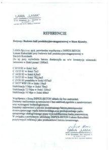 LAMA Referencje